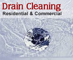 image of drain cleaning residential and commercial cleaning